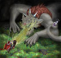 Defeat the dragon, save the princess