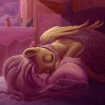 Fluttershy is sleeping