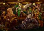 Singing ponies, dancing ponies