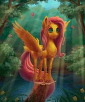 Fluttershy by gor1ck