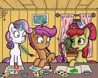 Disadvantages of life with hooves by gor1ck