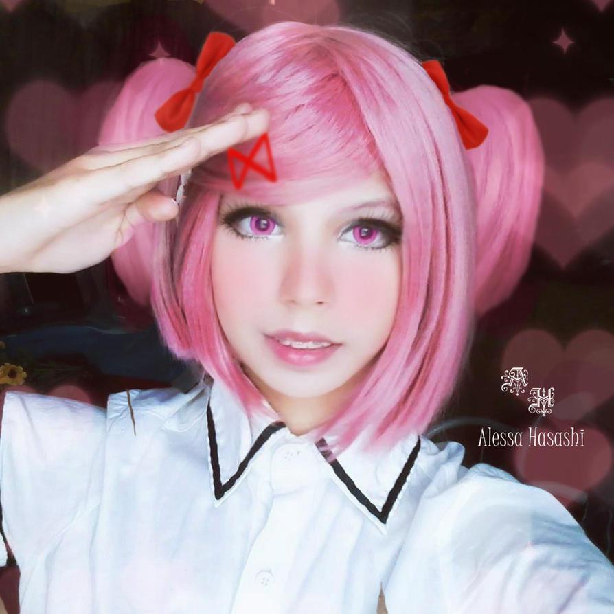 Natsuki Cosplay Doki Doki Literature Club! by AlessaHasashi
