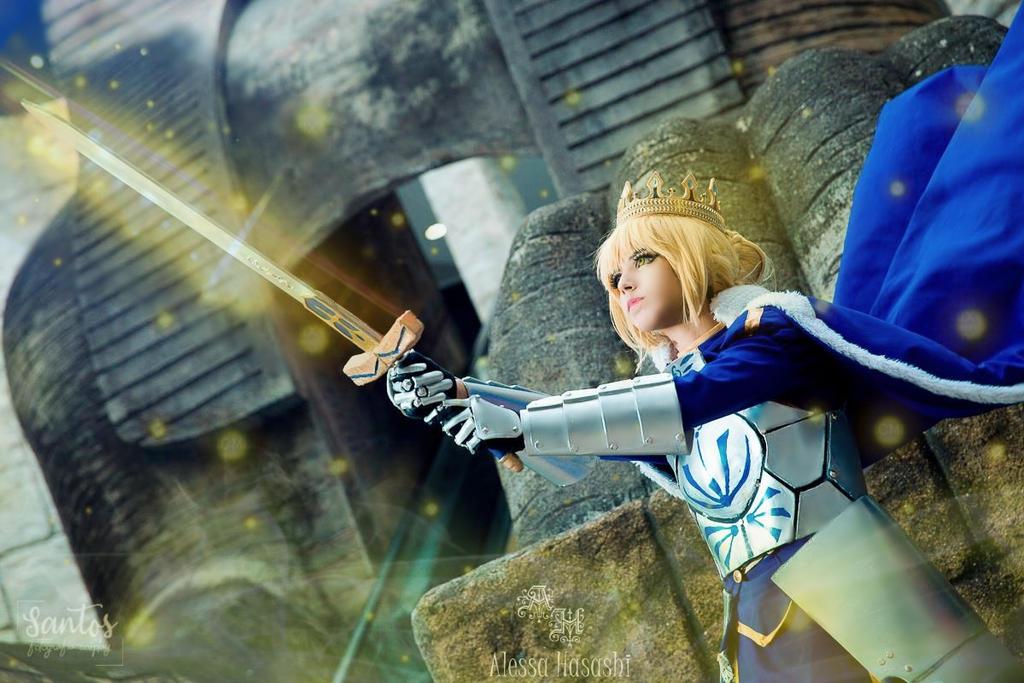 Excalibur! Saber - Cosplay by AlessaHasashi