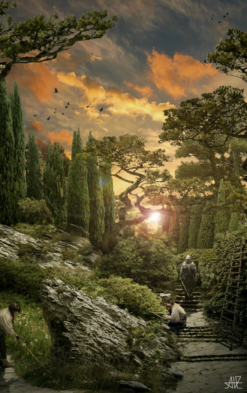 Lyss, gardens by archityran