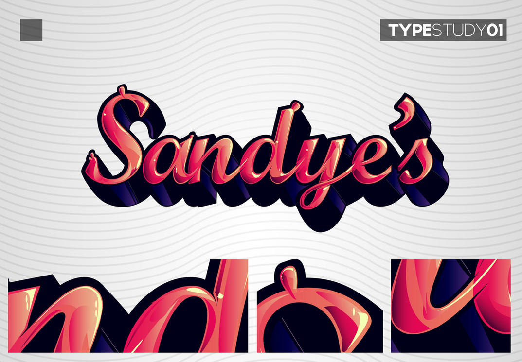 Type study 01 by ~kampollo