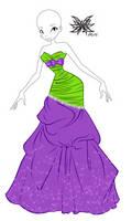 CP: Amina's evening dress