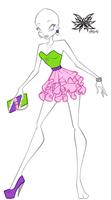 CP: Amina's date dress