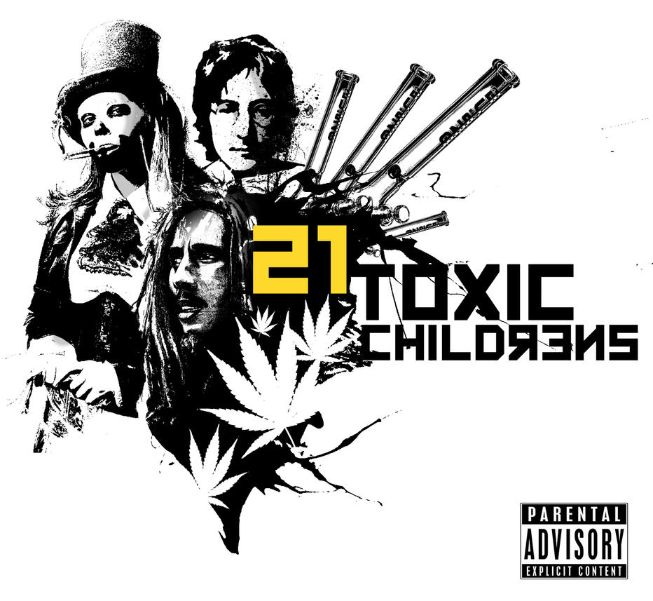 Toxic Childrens V2 Poster/ Album Cover by Maxyall