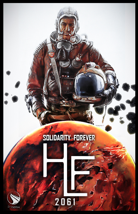 HLF Corp Poster by Maxyall