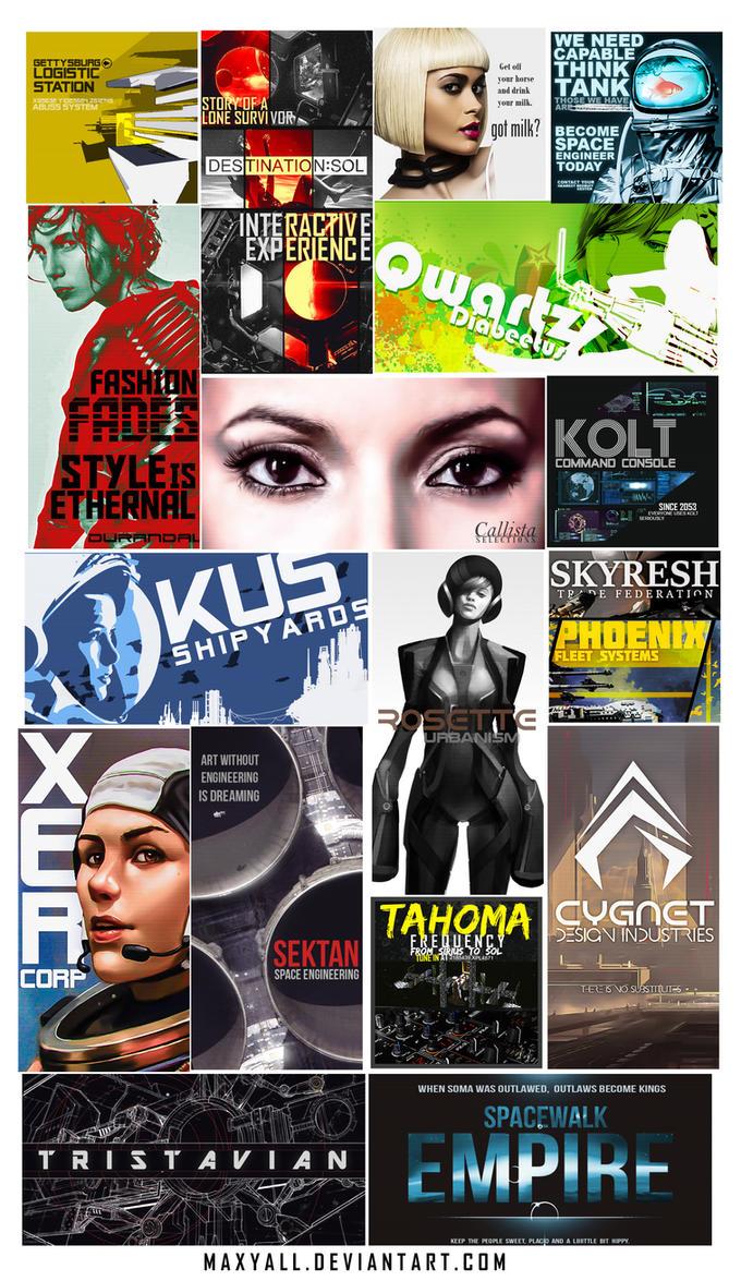 Maxyall's Commercial Billboard pack by Maxyall