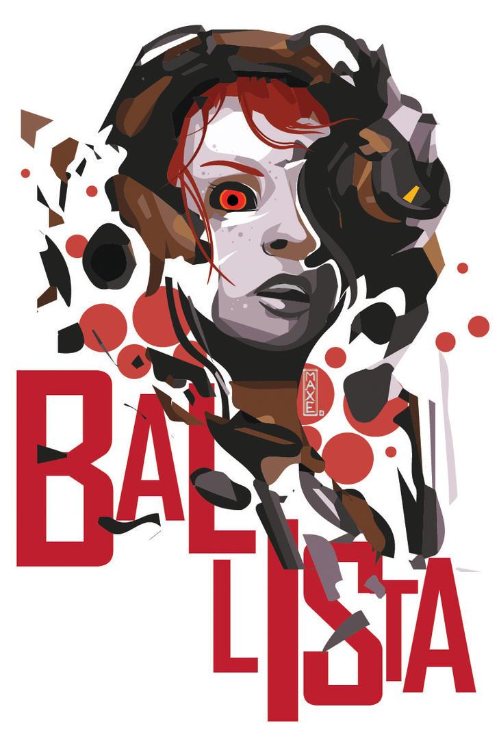Ballista Vector Art by Maxyall