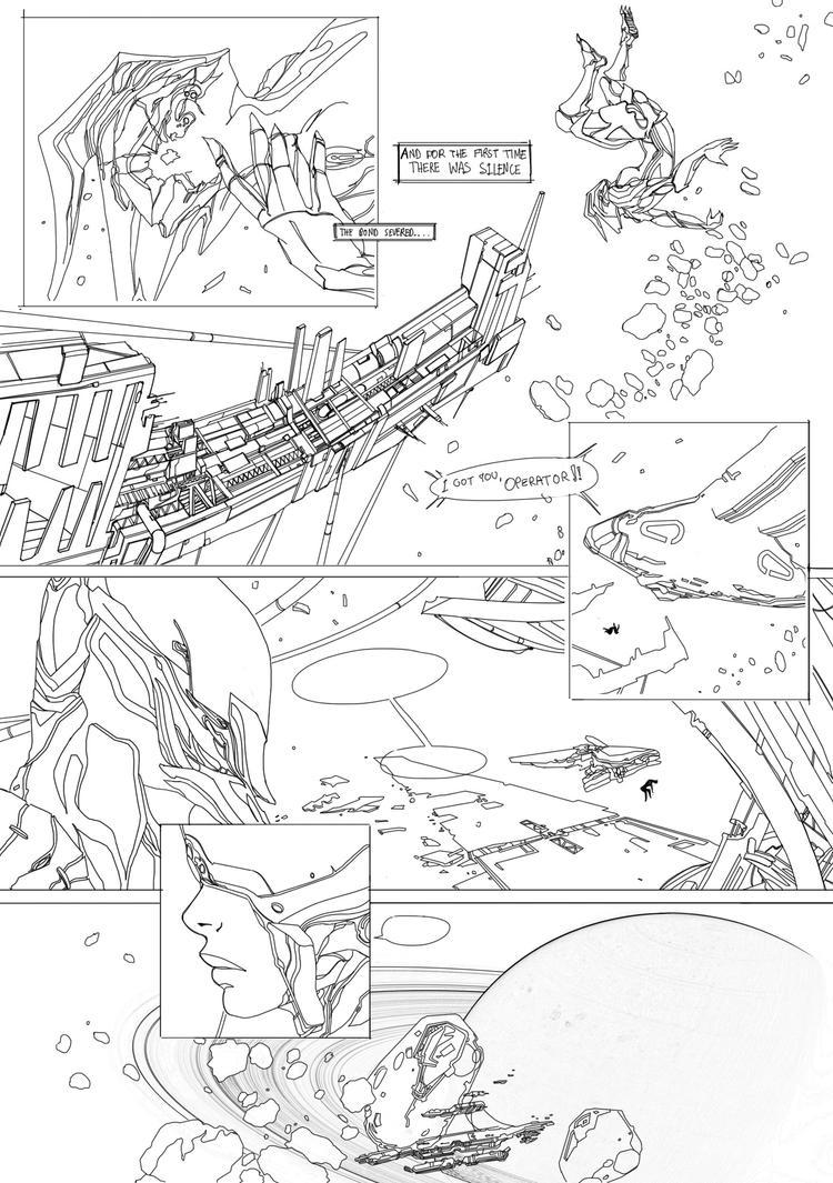 Warframe SEVERED #1, page 17 by Maxyall
