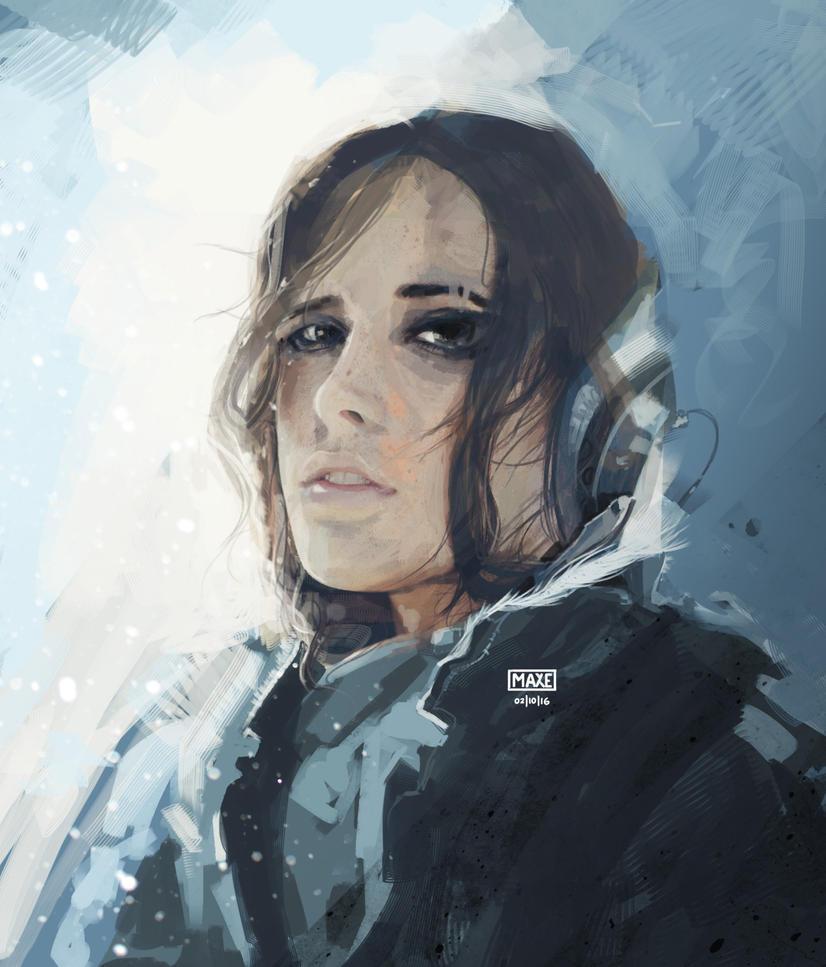 Snow Blind Survivor by Maxyall