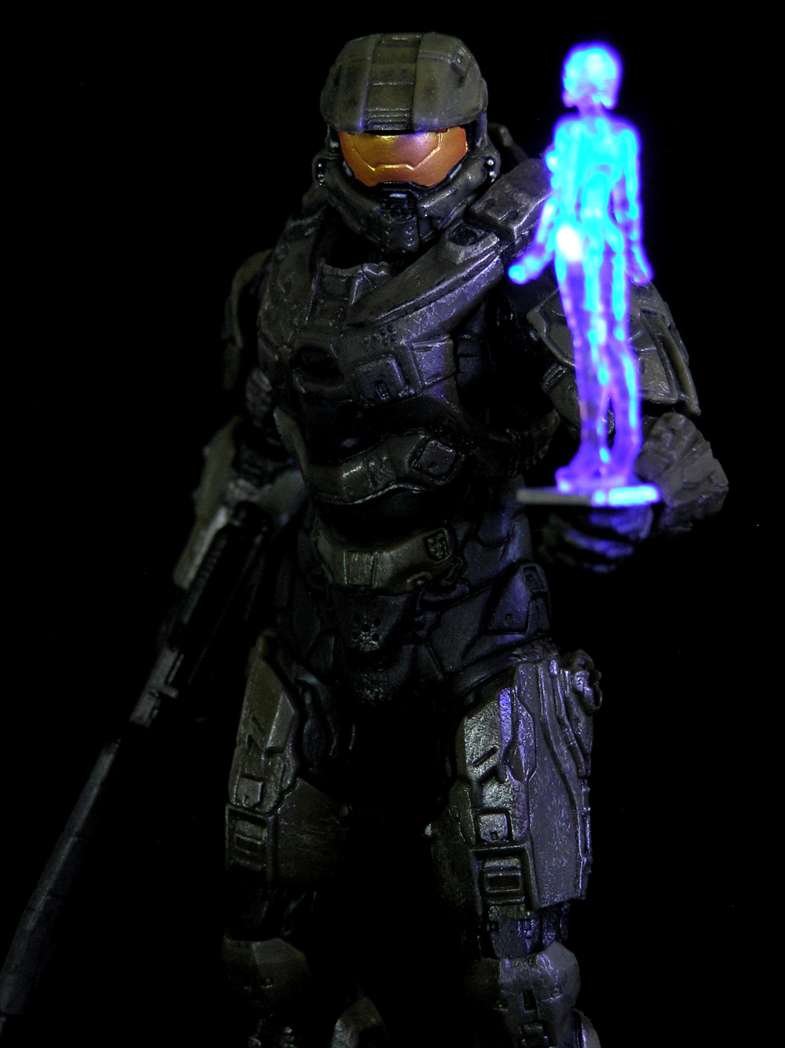 Halo 4 Master Chief and Cortana by AnthonysCustoms