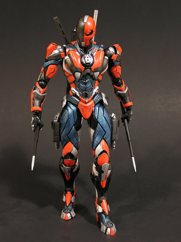 Custom Deathstroke by AnthonysCustoms on DeviantArt