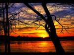 Sunset Herastrau Park IV