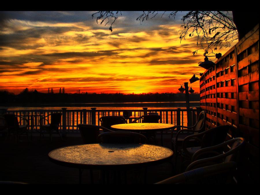 Sunset Herastrau Park V by John77