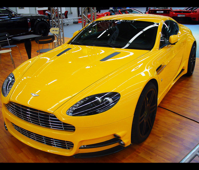 Aston Martin V8 Vantage By John77 On DeviantArt