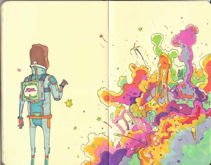 supernova. by MikeBear-A-Weanie