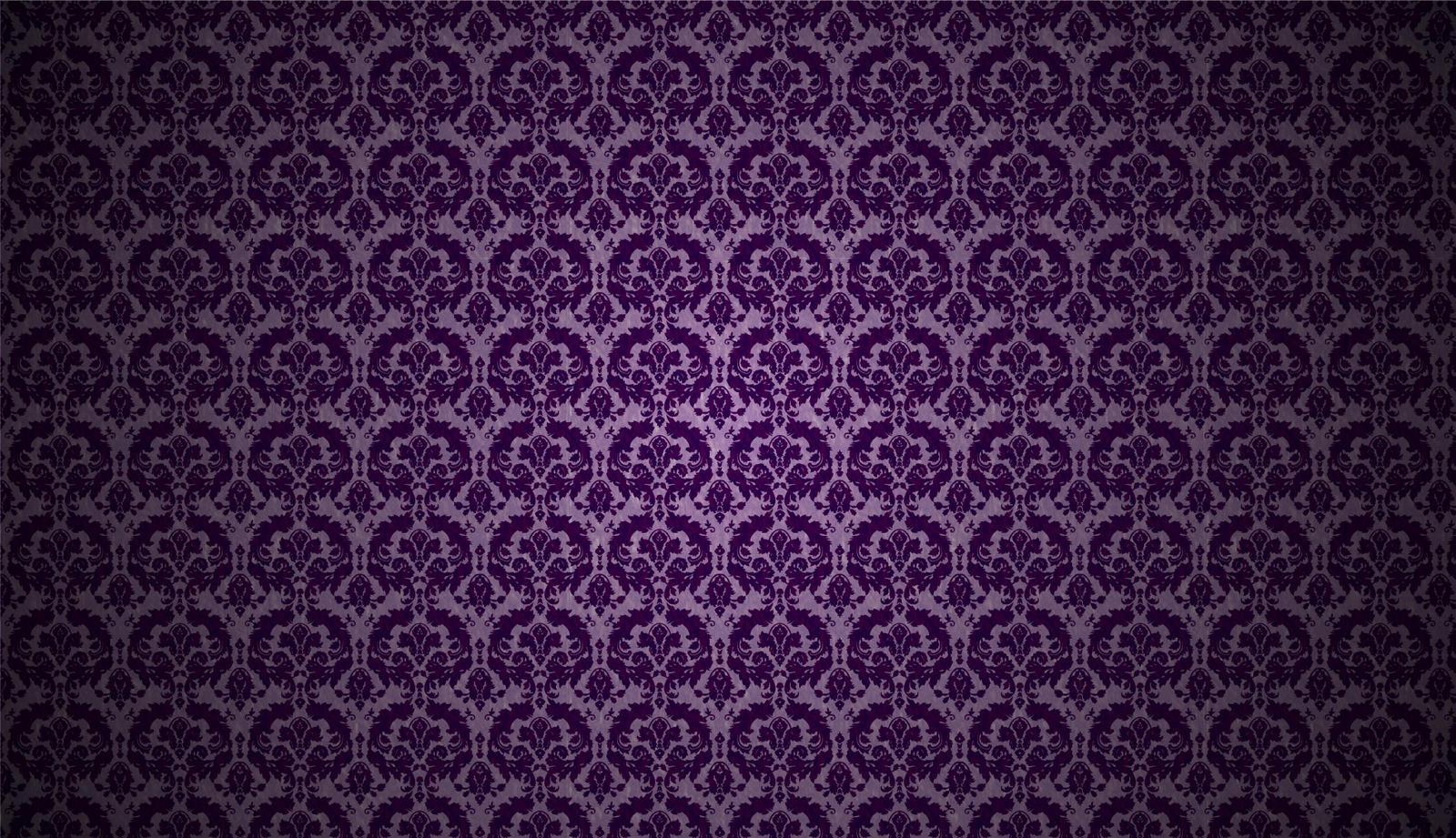purple damask wallpaper - photo #9