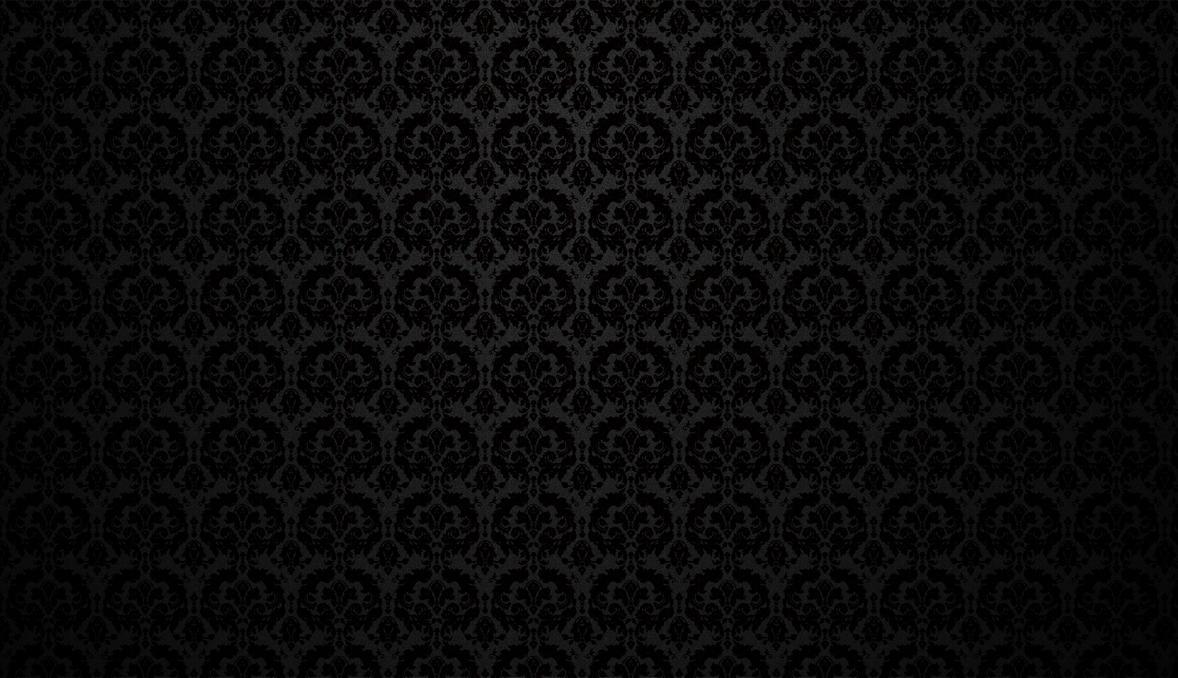 black damask wallpaper on - photo #10