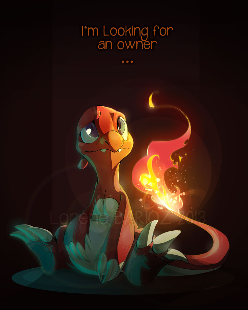The Lonely Charmeleon by Dragibuz