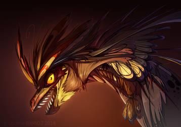 Dragon Phoenix by Dragibuz