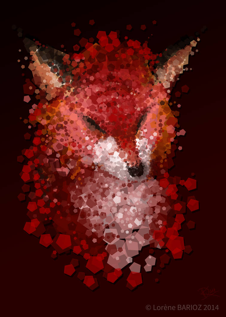 Red fox by Dragibuz