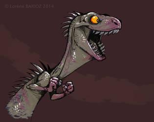 Crazy dinosaur by Dragibuz