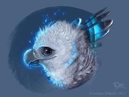 Harpy eagle style by Dragibuz