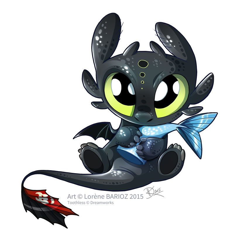 Baby Toothless by Dragibuz on DeviantArt