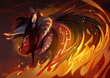 Fire Dragon style by Dragibuz