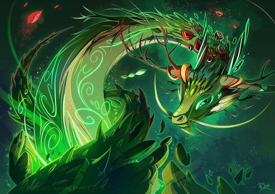 Earth Dragon Style By Dragibuz On Deviantart
