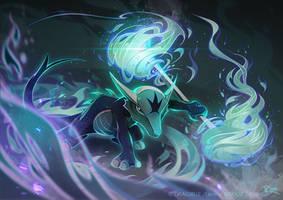 Marowak's Ghost Inferno by Dragibuz