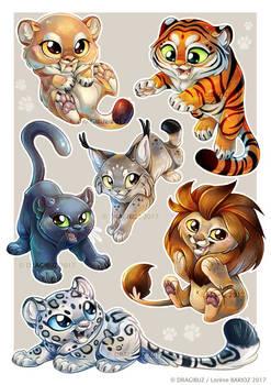 Feline Sticker