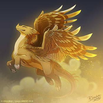 The Sand Dragon by Dragibuz