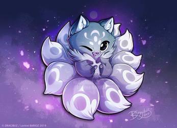Baby Kitsune by Dragibuz