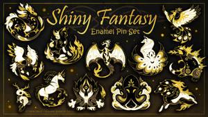 Shiny Fantasy - Hard Enamel Pin Set
