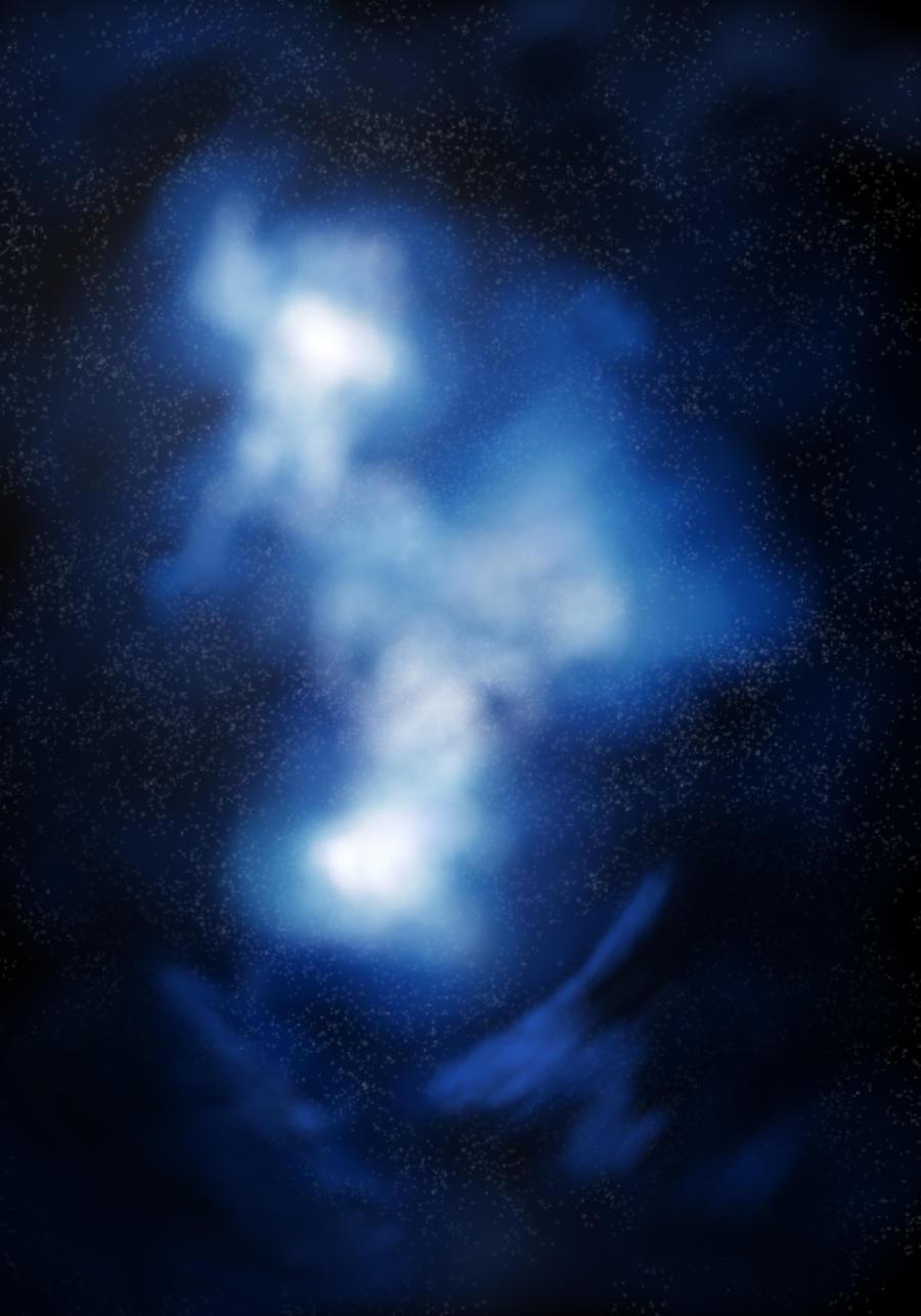 Space Nebula by Vronde on DeviantArt