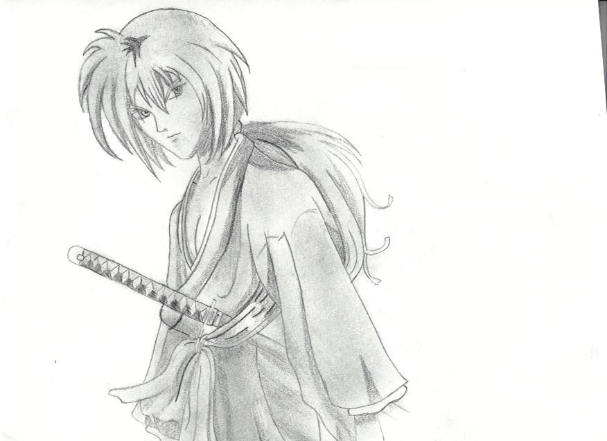 Rurouni Kenshin Drawing By Dabballfool