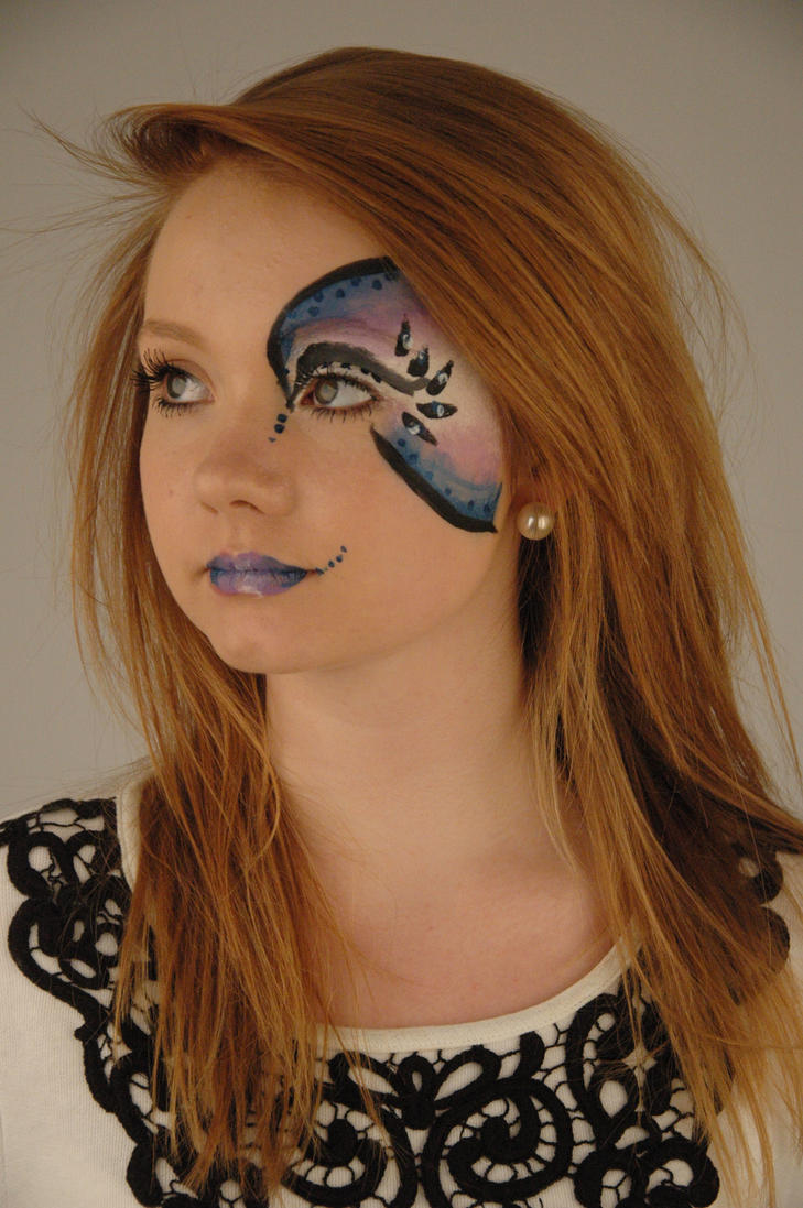Simple Face Painting Designs Flowers Viewing Gallery