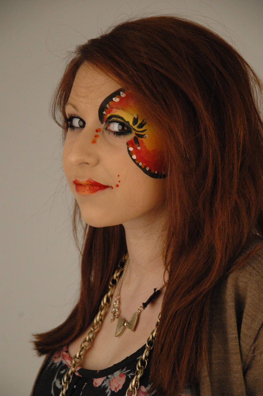 Simple Face Paint Designs Viewing Gallery
