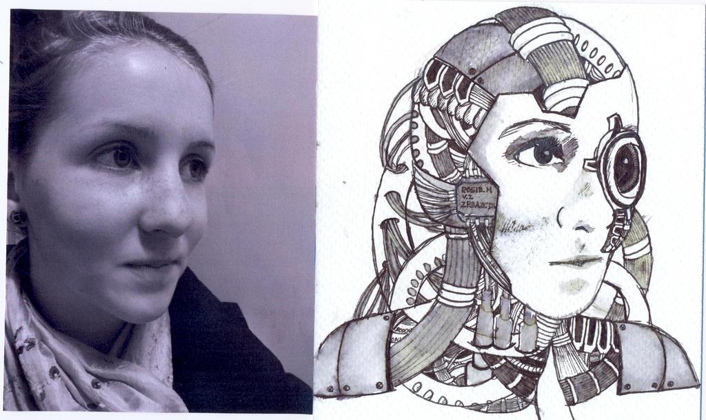 Cyborg sketchdoodle 3 ...
