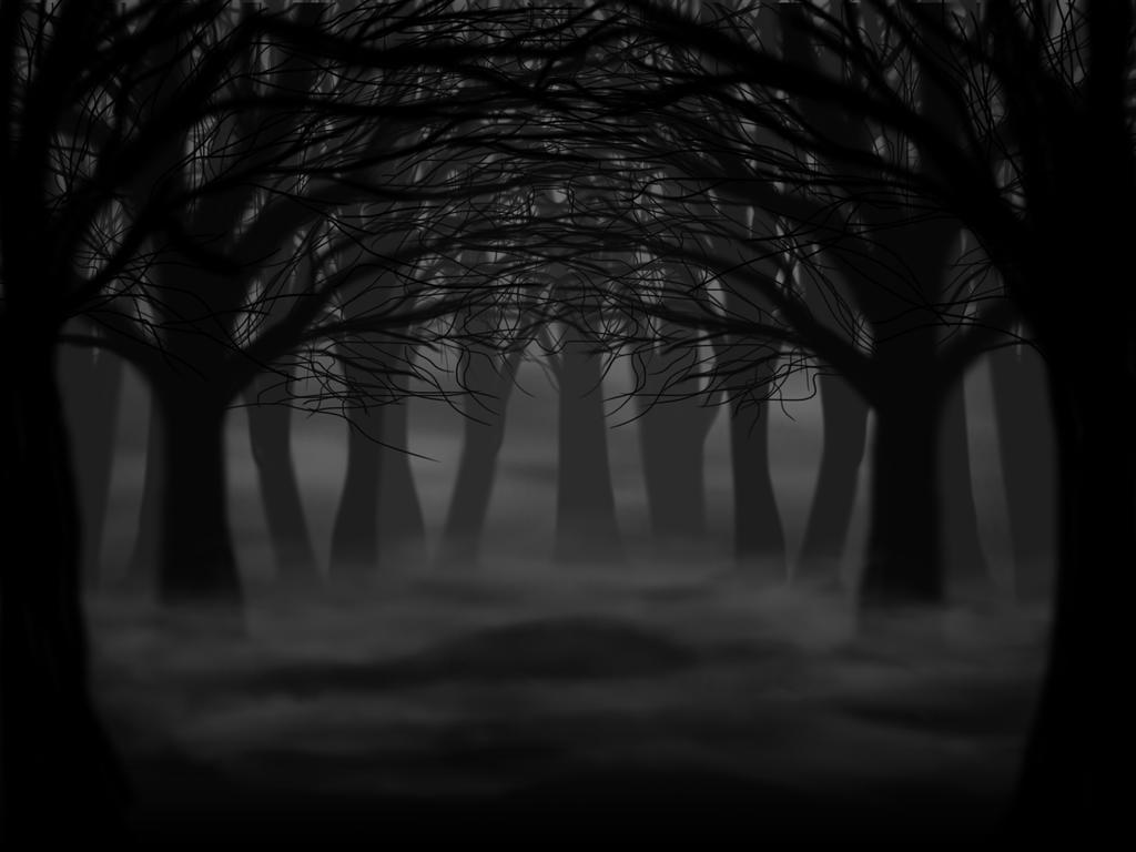 Резултат с изображение за scary forest dark