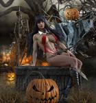 Halloween Pinup 20201025