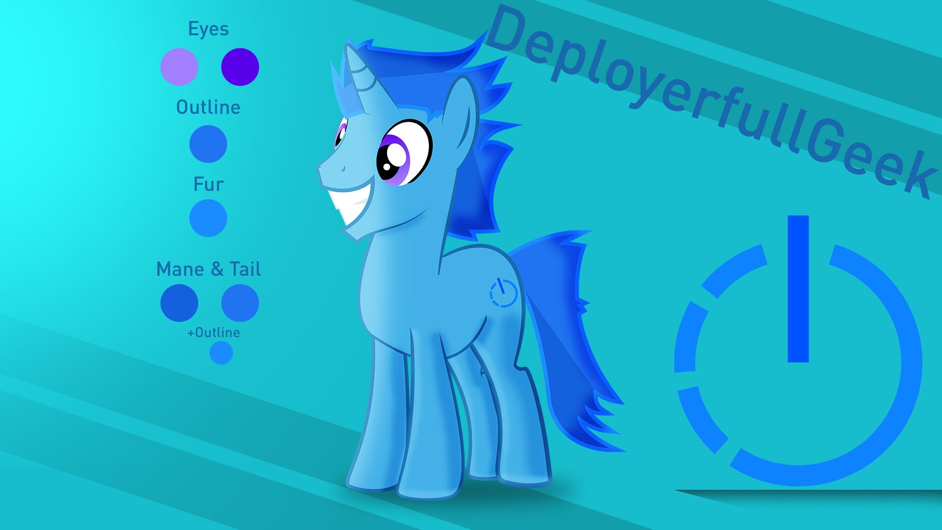 DeployerfullGeek OC by DeployerfullGeek