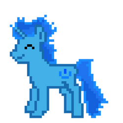 Pixel Art ~ DepoyerfullGeek Oc - Base by DeployerfullGeek