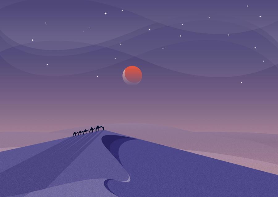 Desert Stand by art176