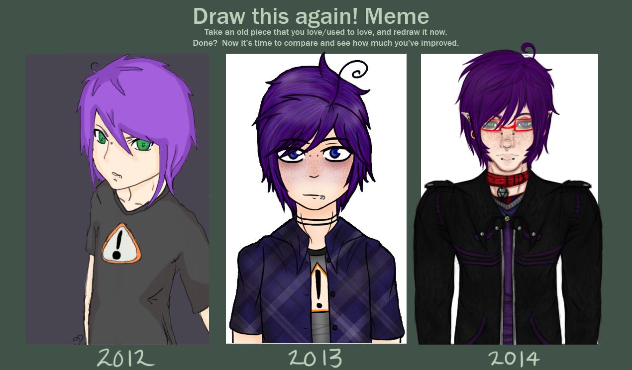 [Meme]Draw This Again- Gaz by Gothamed