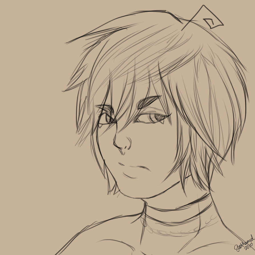 [Sketch] Cedric by Gothamed